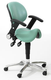 Dentists Saddle Stool with Backrest and Arm  sc 1 st  Physiodent & Physiodent - Dental Equipment Specialist islam-shia.org